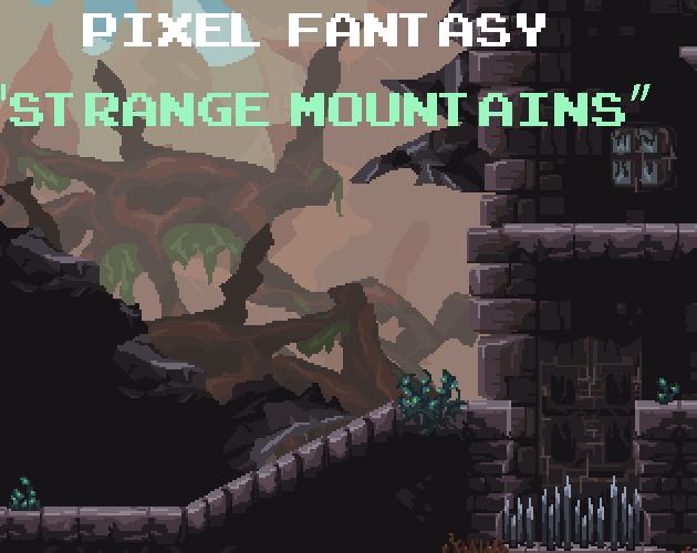 Pixel Fantasy Strange Mountains