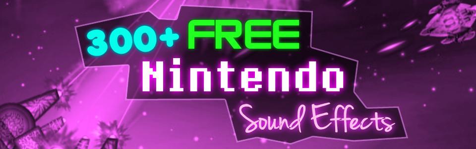 300+ NINTENDO – 8 BIT – VIDEO GAME SOUNDS