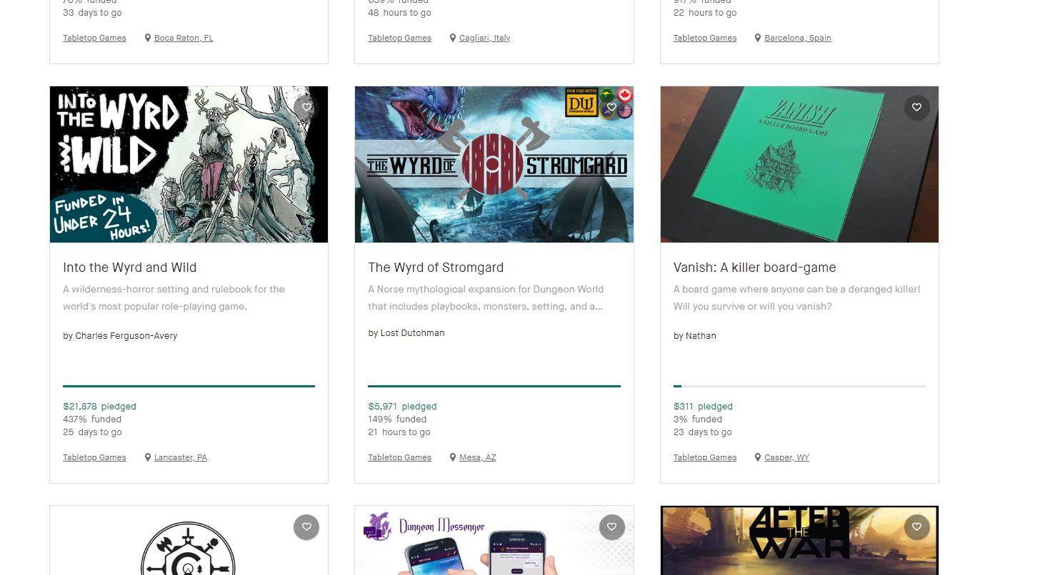 Kickstarter Explore by Magic