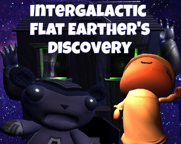 Intergalactic Flat Earther's Discovery