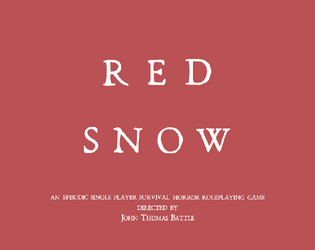 Red Snow - Encounter 1