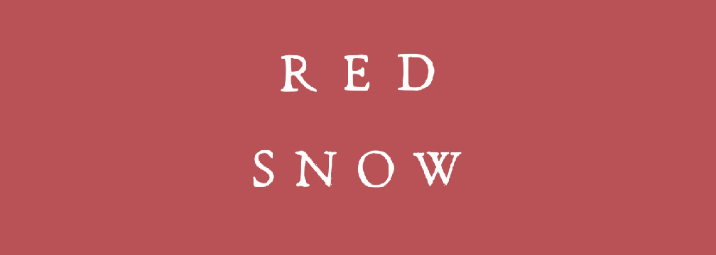 Red Snow - the first encounter