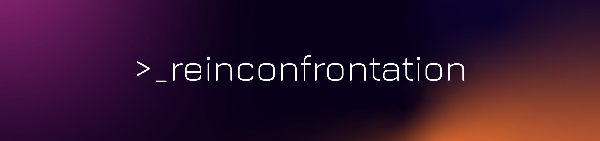 Reinconfrontation
