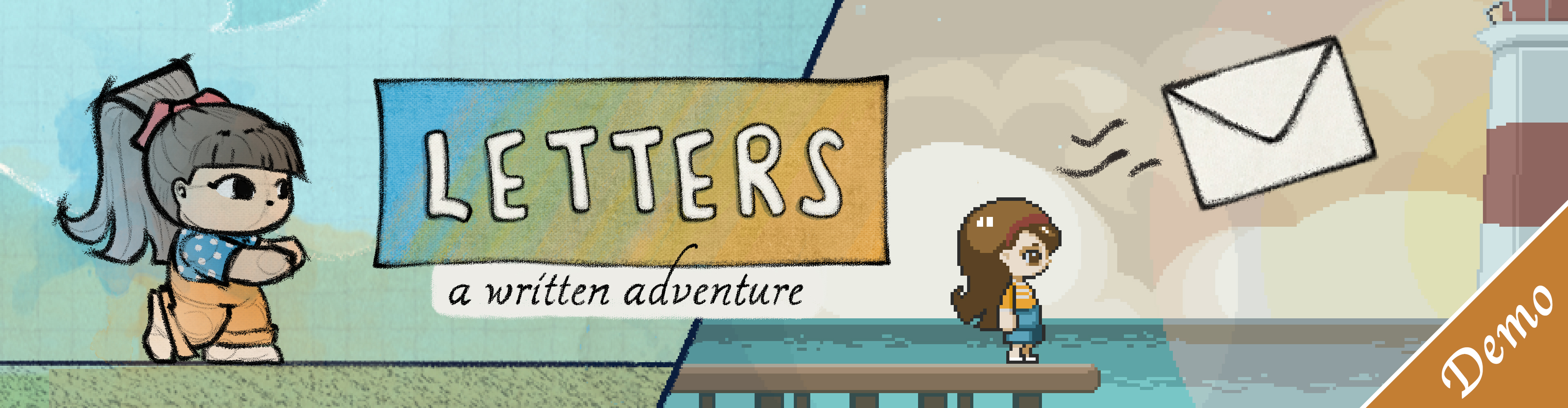 "Demo of ""Letters - a written adventure"""