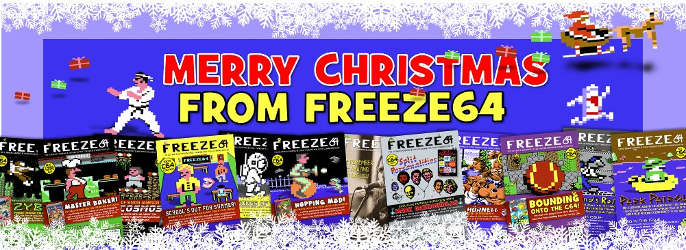 FREEZE64 - Free Commodore C64 Christmas Game