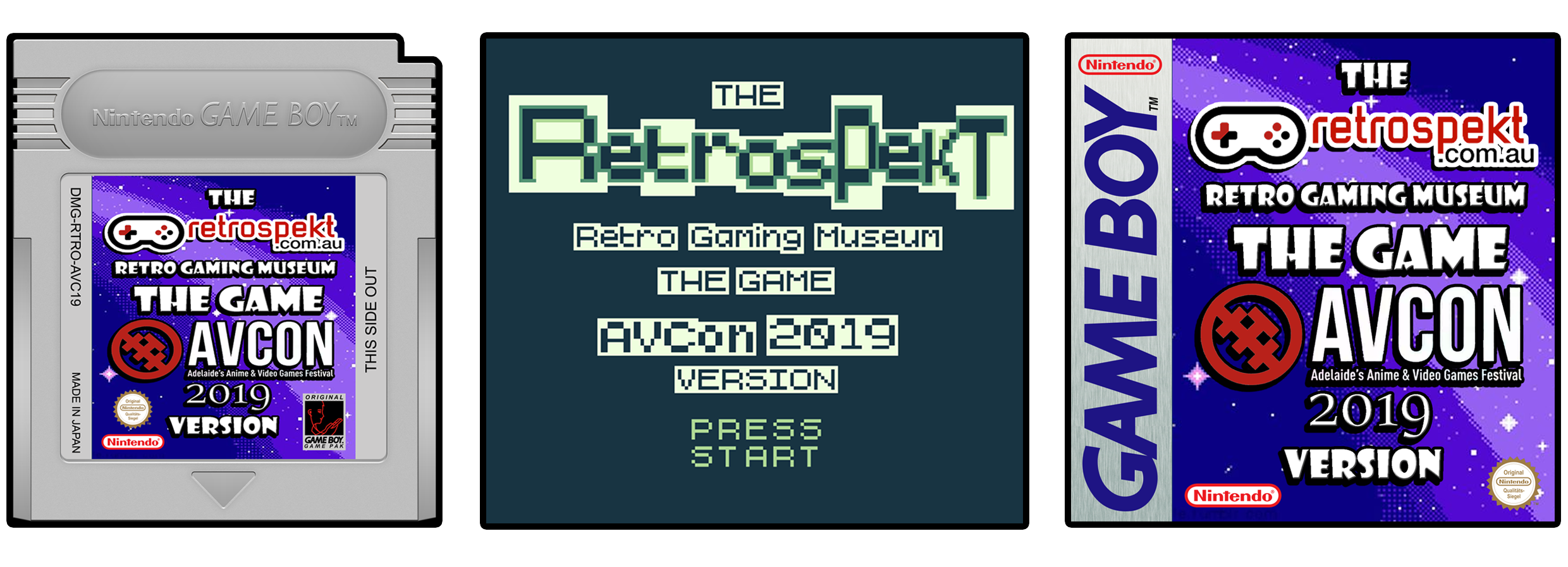 The Retrospekt.com.au Retro Gaming Museum The Game AVCon 2019 Version