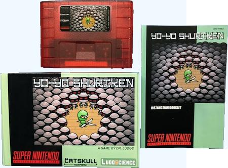 Nouveau jeu Super Nintendo : Yo-Yo Shuriken YQRPO3