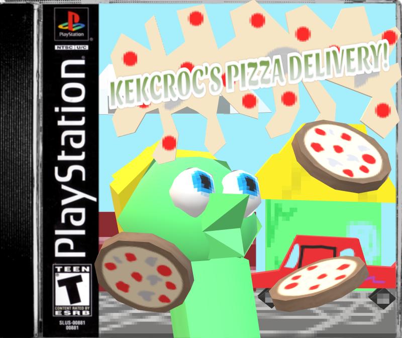 Kekcroc's pizza delivery (PS1 version)