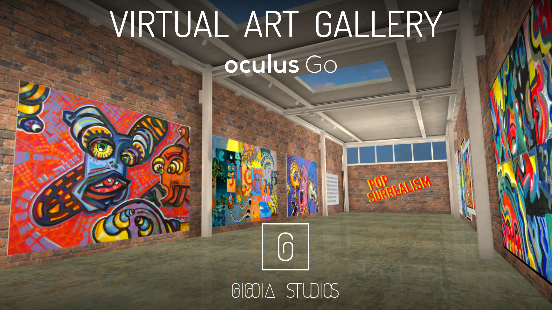 POP VIRTUAL ART GALLERY