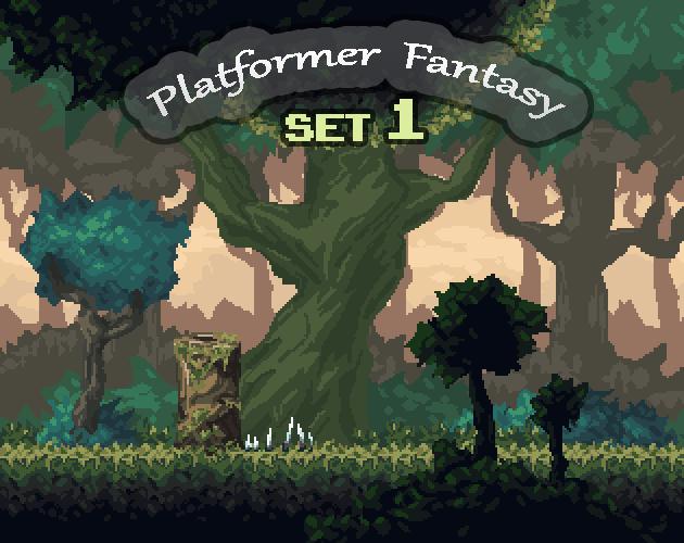 Platformer Fantasy SET1