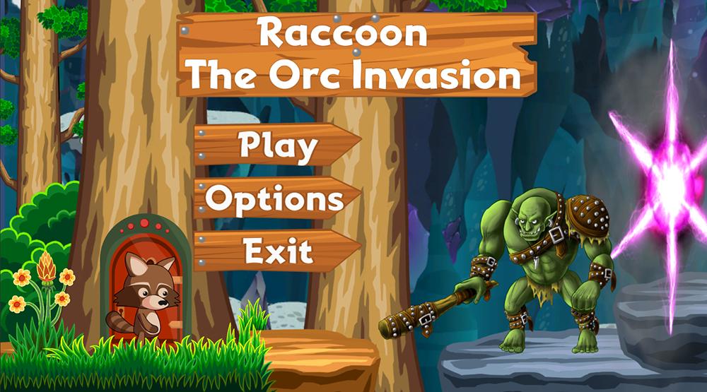 🐲Raccoon - Orc Invasion