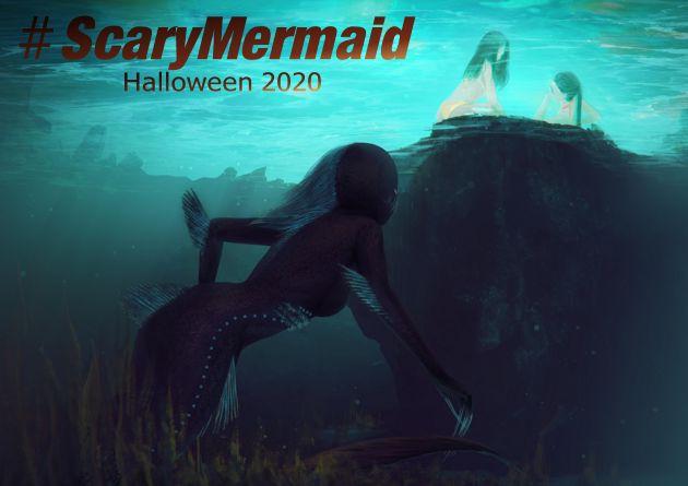 #ScaryMermaid