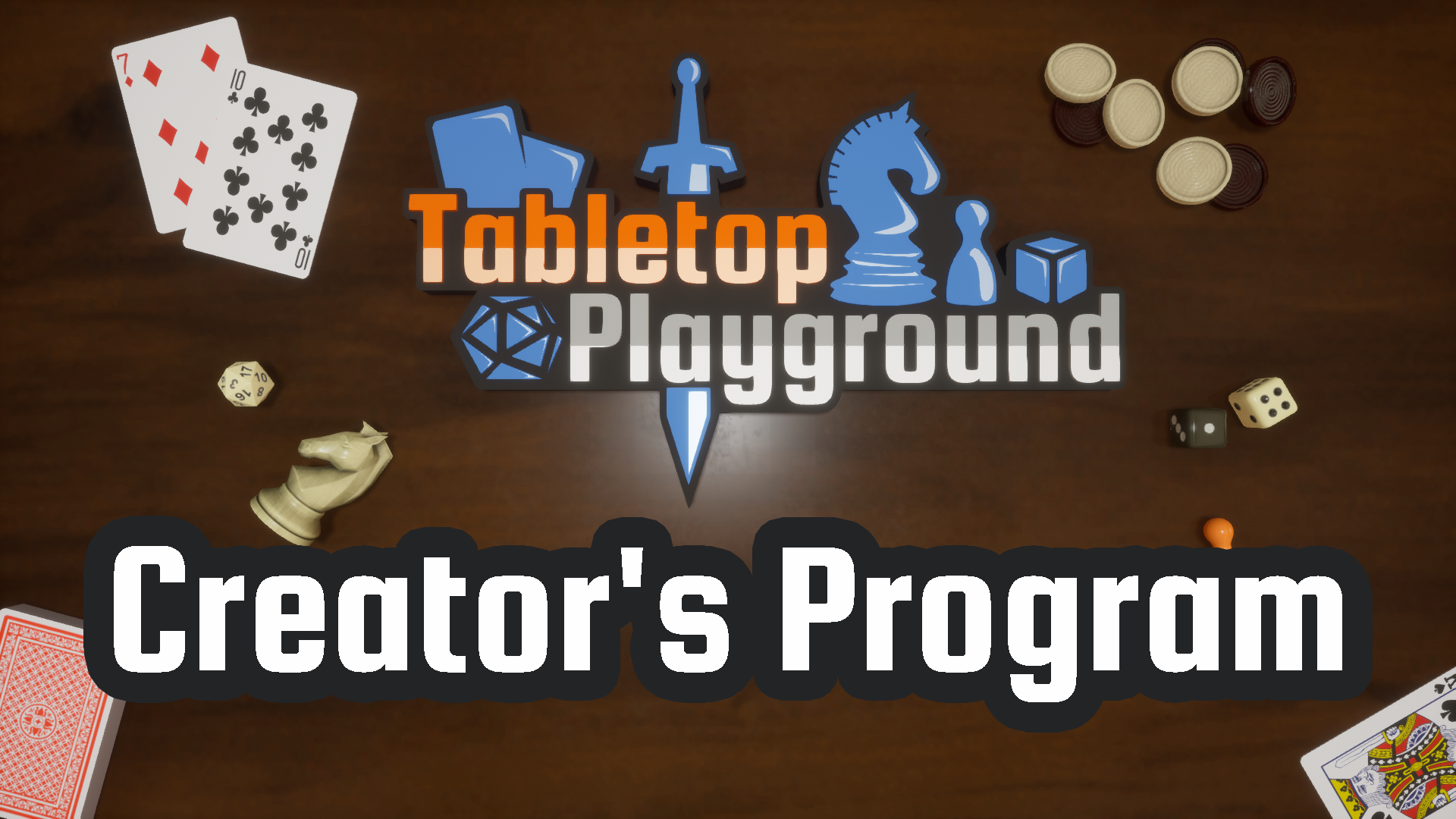 Tabletop Playground Creator's Program