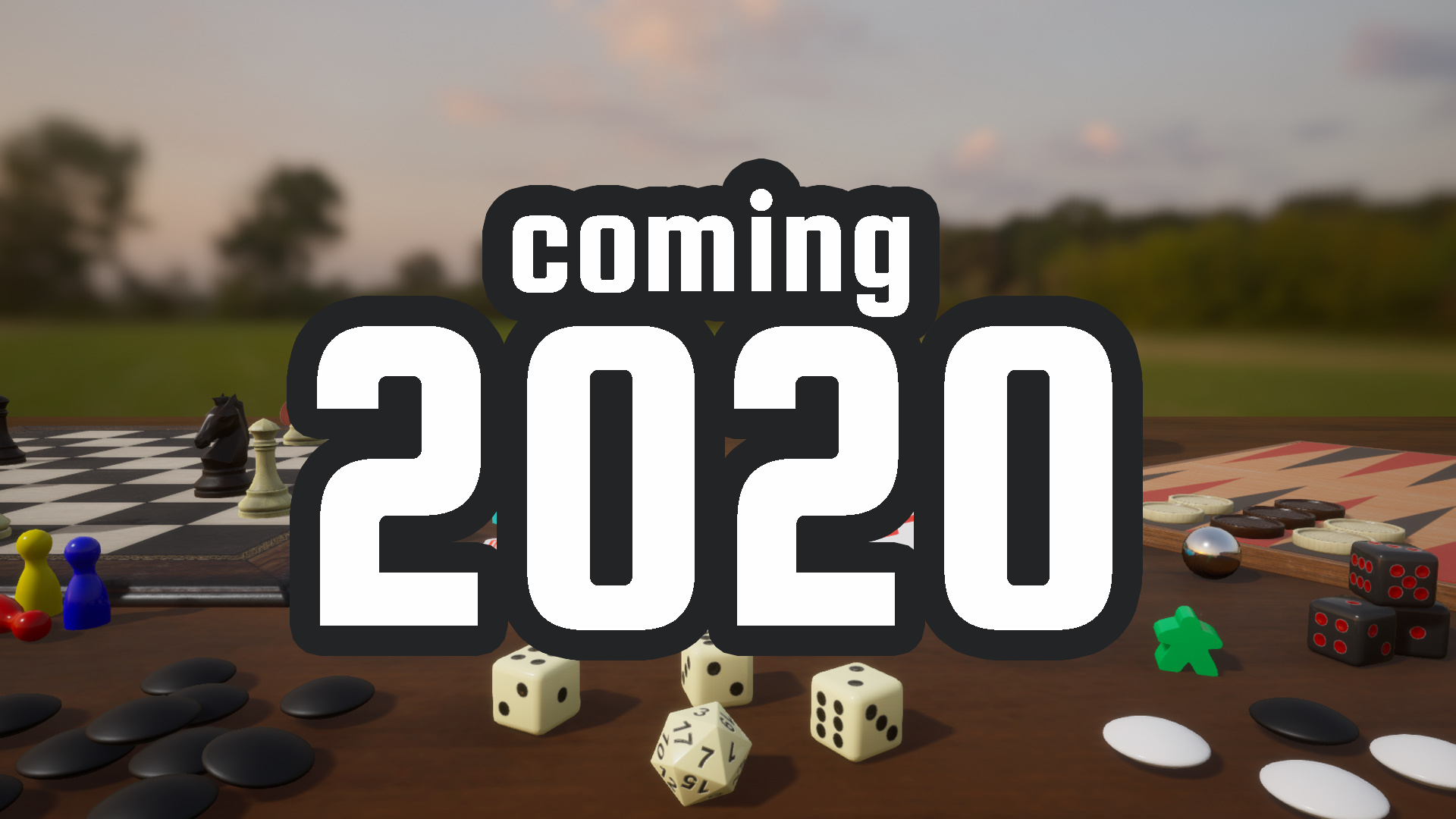 Tabletop Playground Releasing 2020