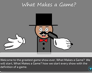 What Makes a Game?