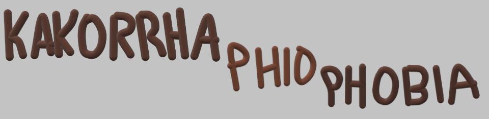 Kakorrhaphiophobia