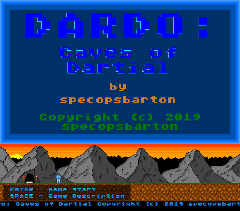 Dardo: Caves of Dartial
