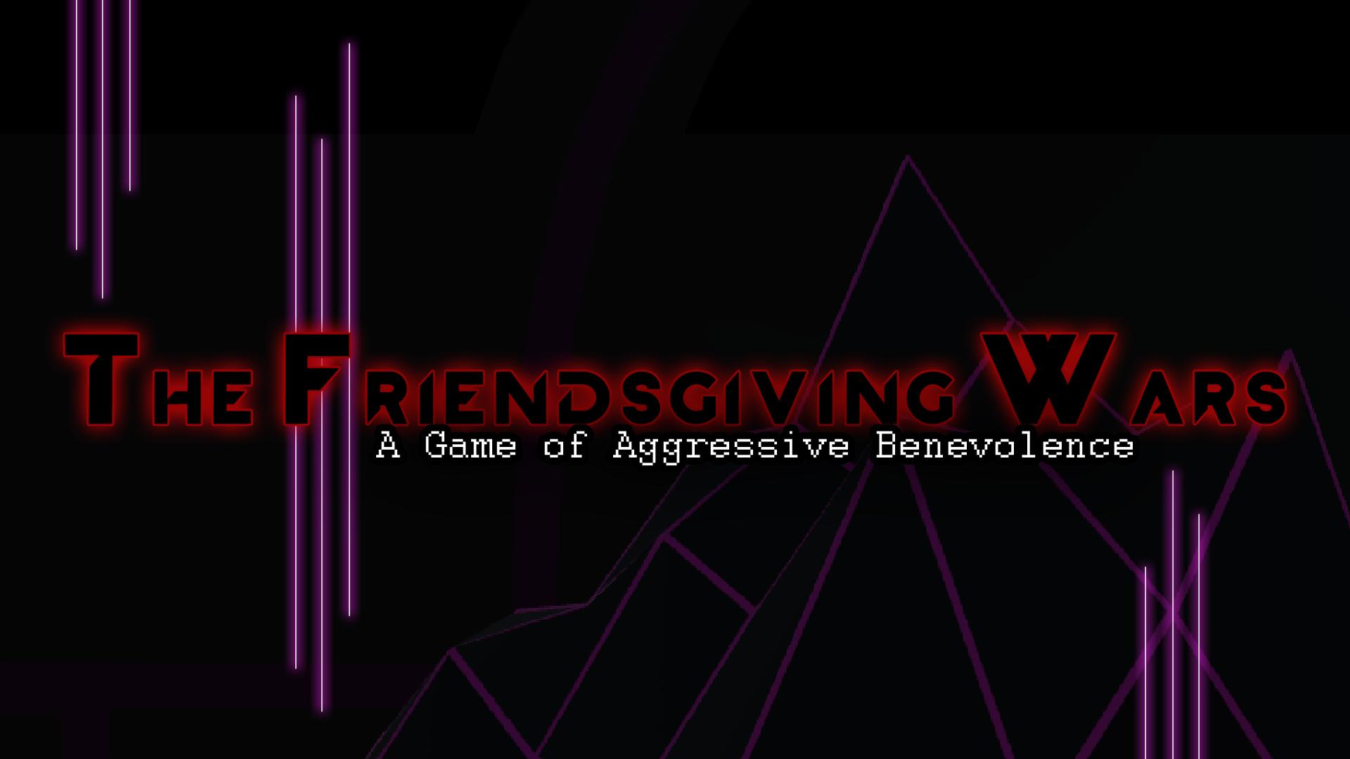 The Friendsgiving Wars
