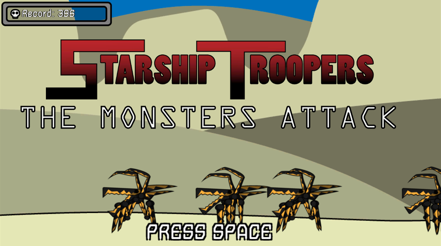 Starship troopers: The monsters attack