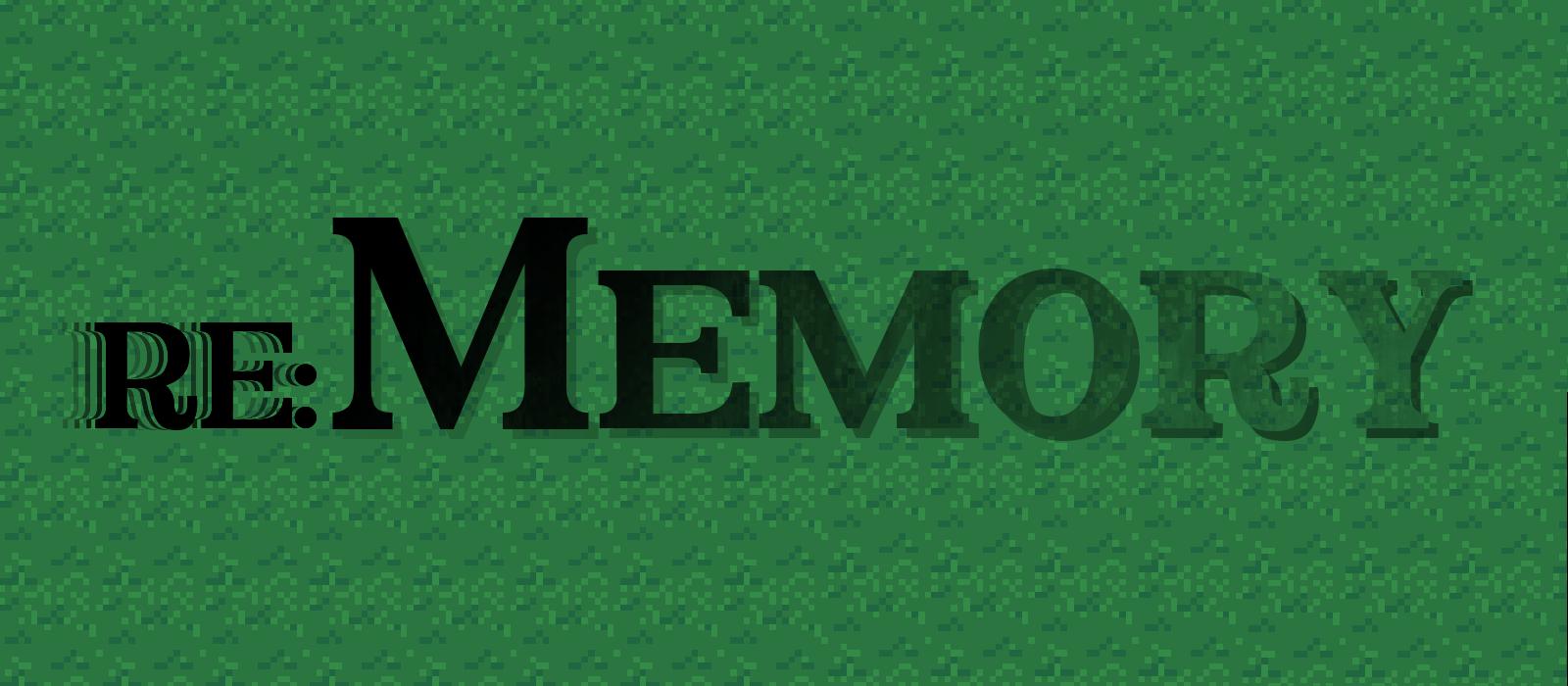 Re: Memory