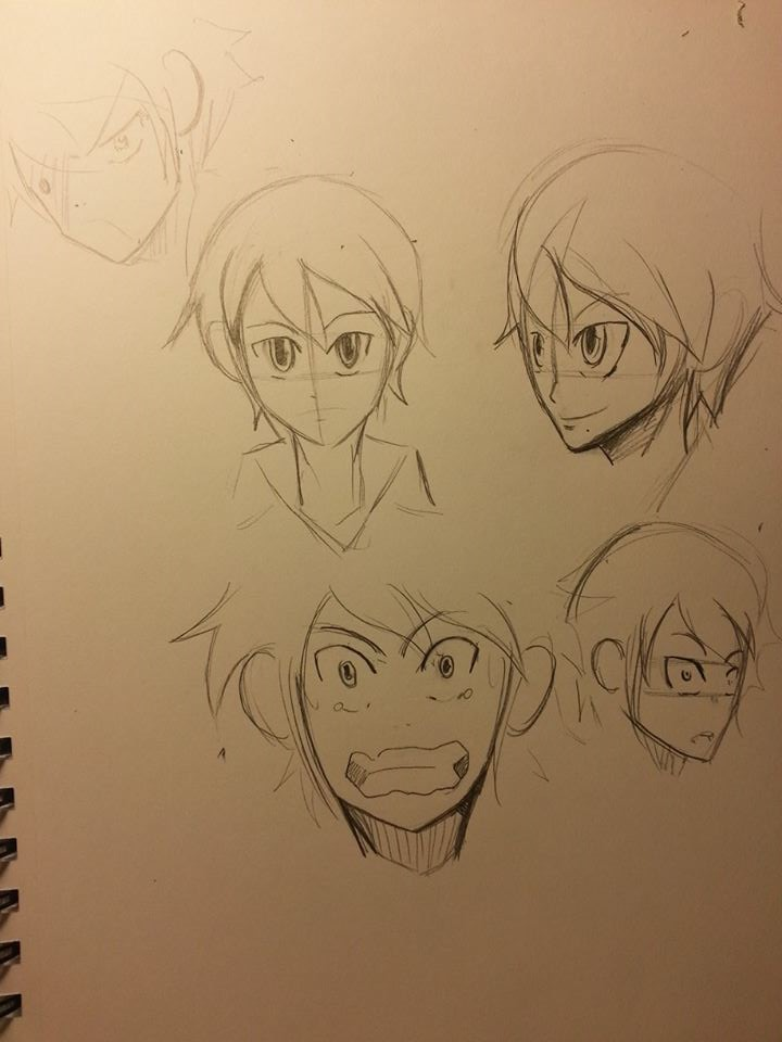 Perry Rough Sketches 1