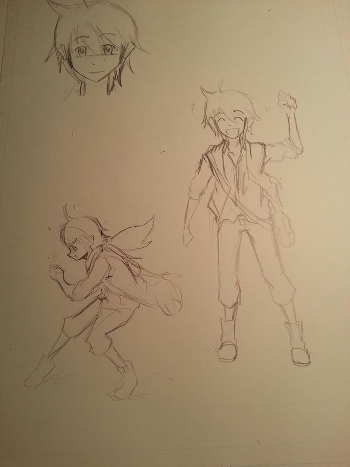 Archie Rough Sketches