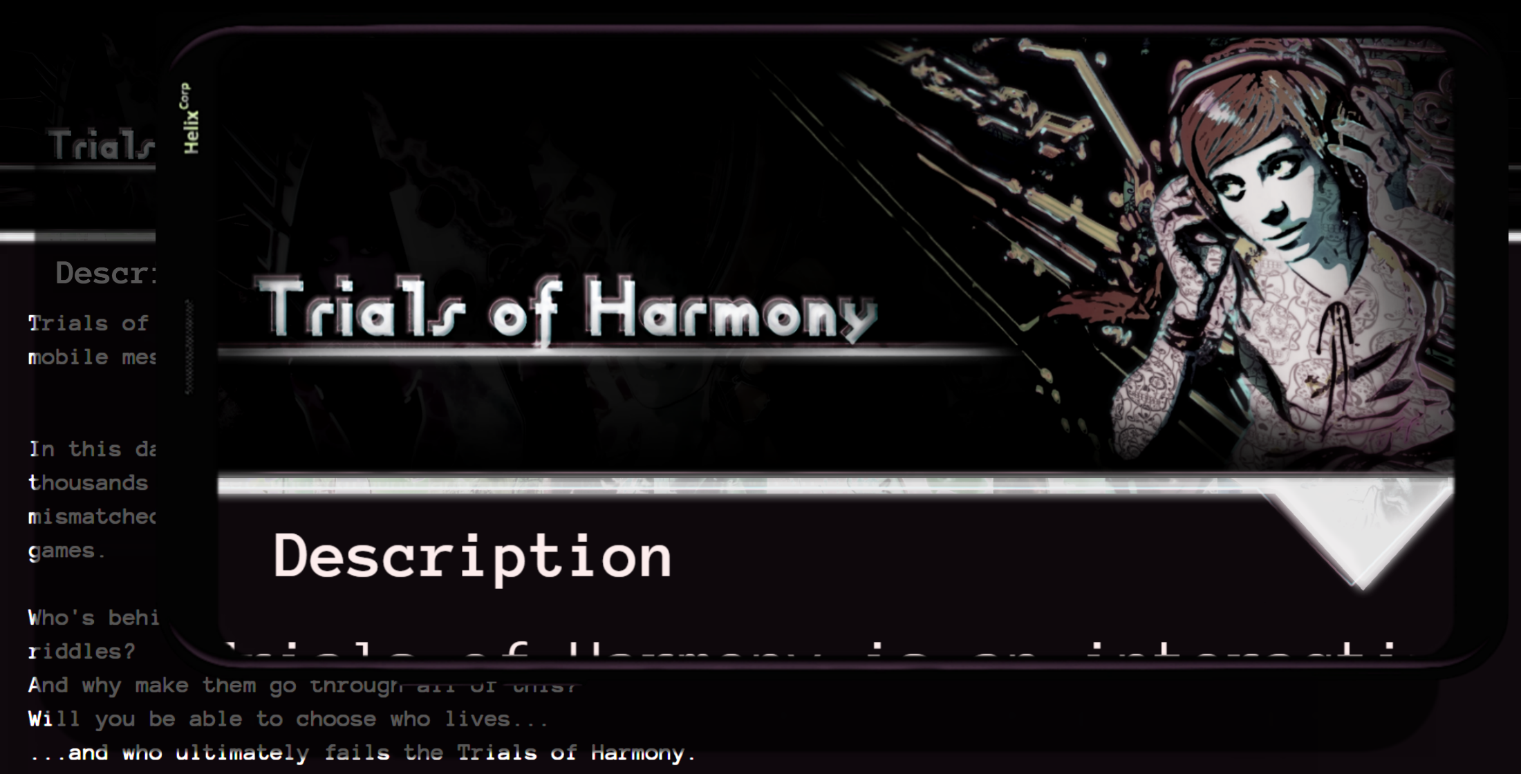 Trials of H̶a̸r̶mo̷n̷y DEMO ~ A Found Phone Visual Novel