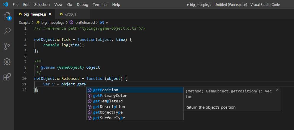 Visual Studio Text Editor