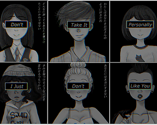 Don't Take It Personally, I Just Don't Like You: The Camping Trip [Free] [Visual Novel] [Windows] [macOS] [Linux]