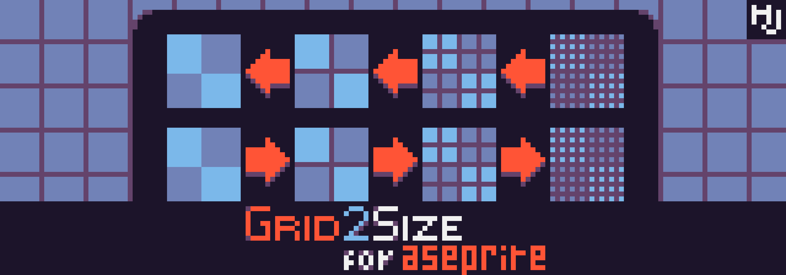 Grid2Size for Aseprite