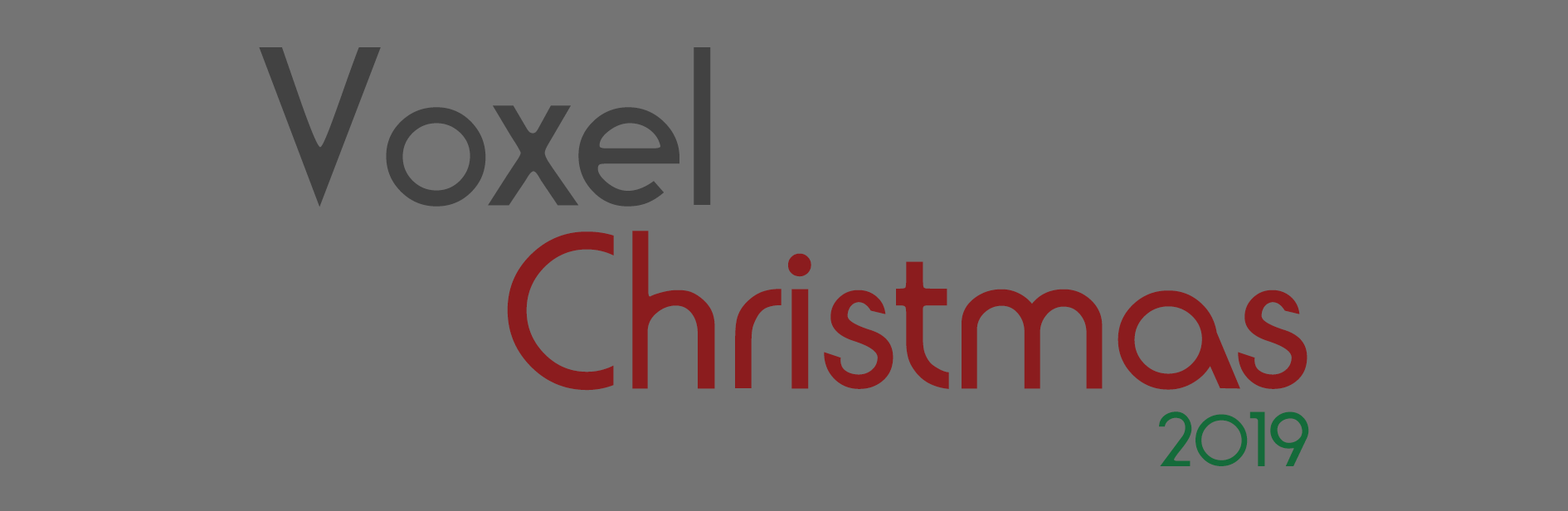 Voxel Christmas