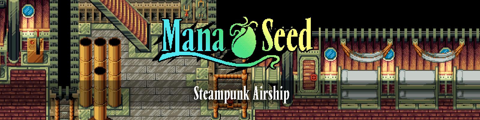 Tileset - Steampunk Airship