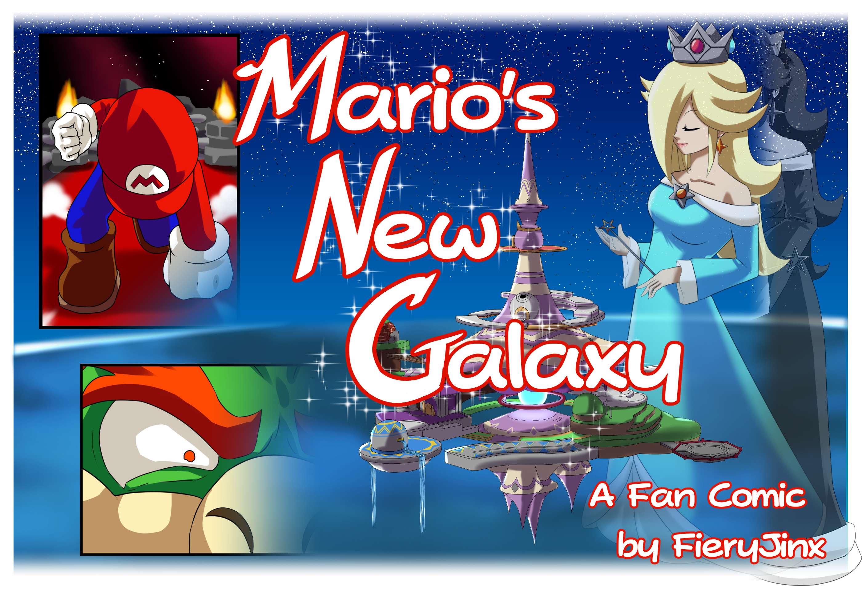 Mario S New Galaxy A Mario Tg Story By Fieryjinx Devoted exclusively to the tg comic heroine mantra, the first tg heroine to get her very own comic book! mario s new galaxy a mario tg story