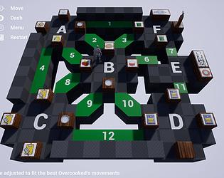 Overcooked original level design