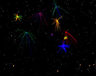 Fireworks + New Year Countdown