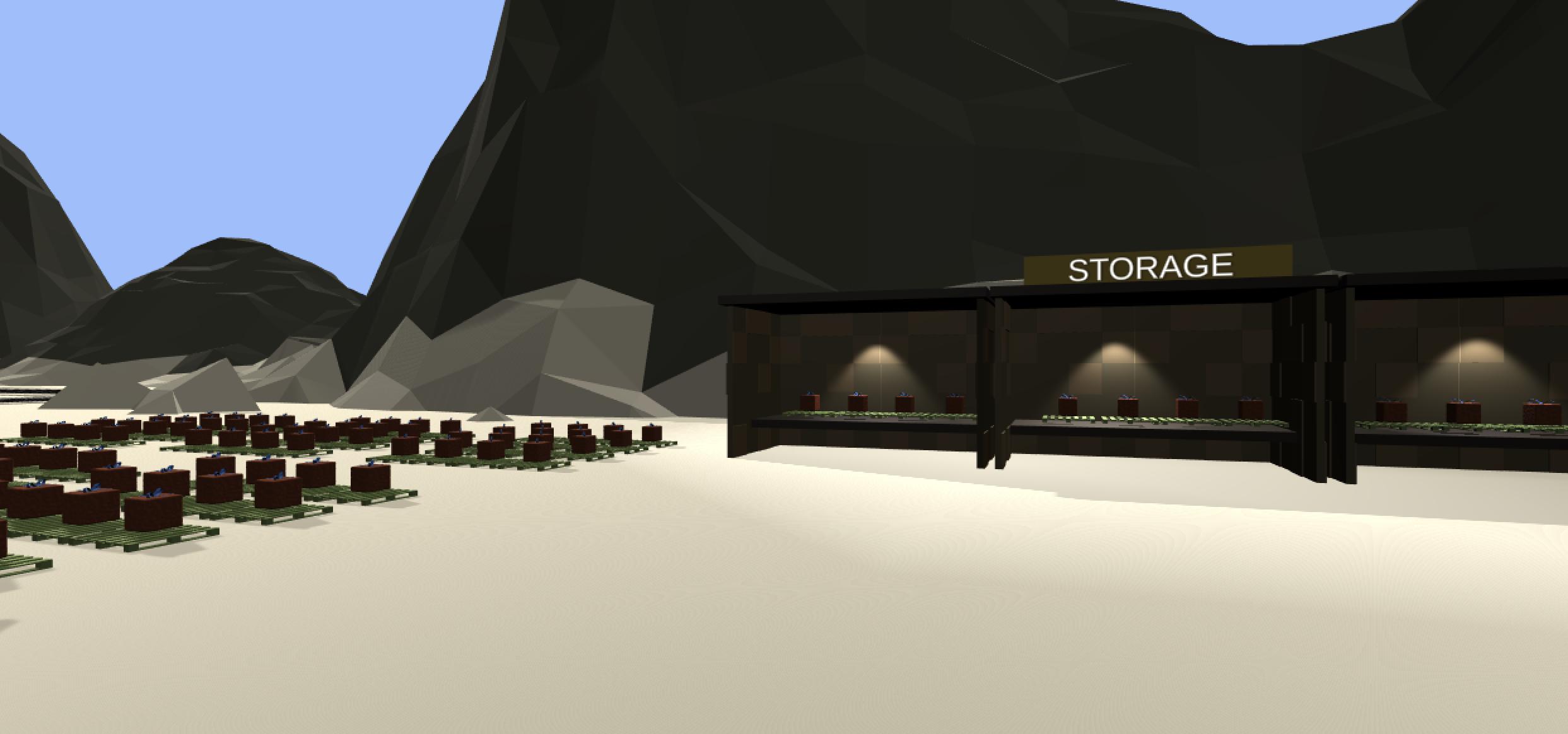 Santa's storage