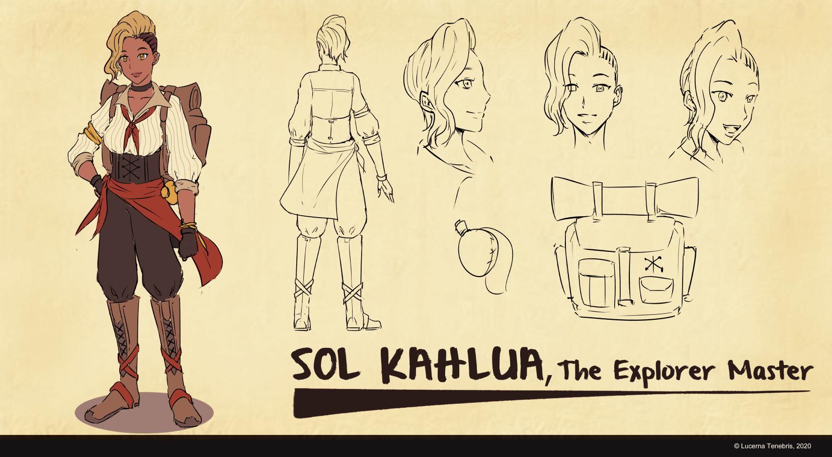 Sol Kahlua Character Sheet