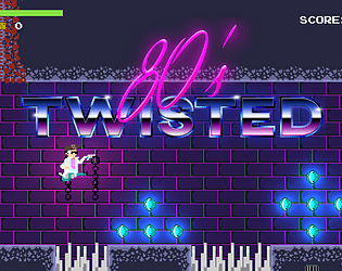 Twisted 80s [Free] [Platformer] [Windows]