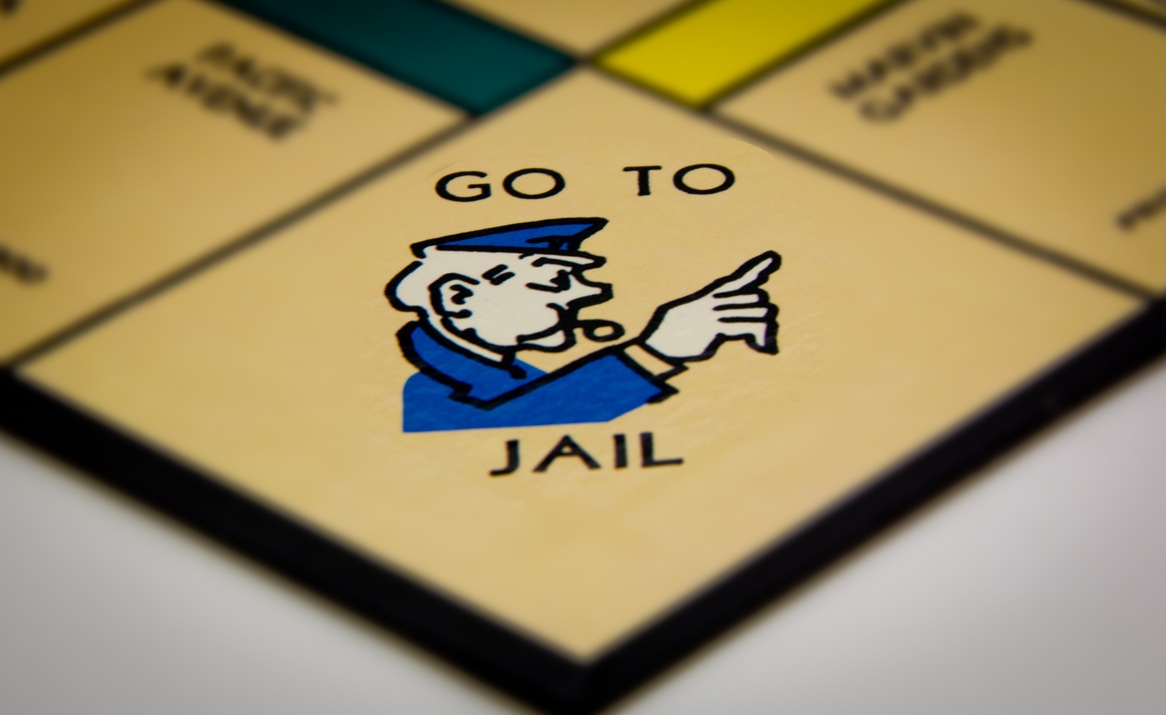Go Directly To Jail (Do not pass go, do not collect $200)