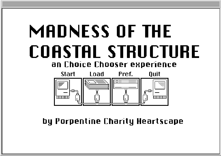 MADNESS OF THE COASTAL STRUCTURE: an Choice Chooser experience