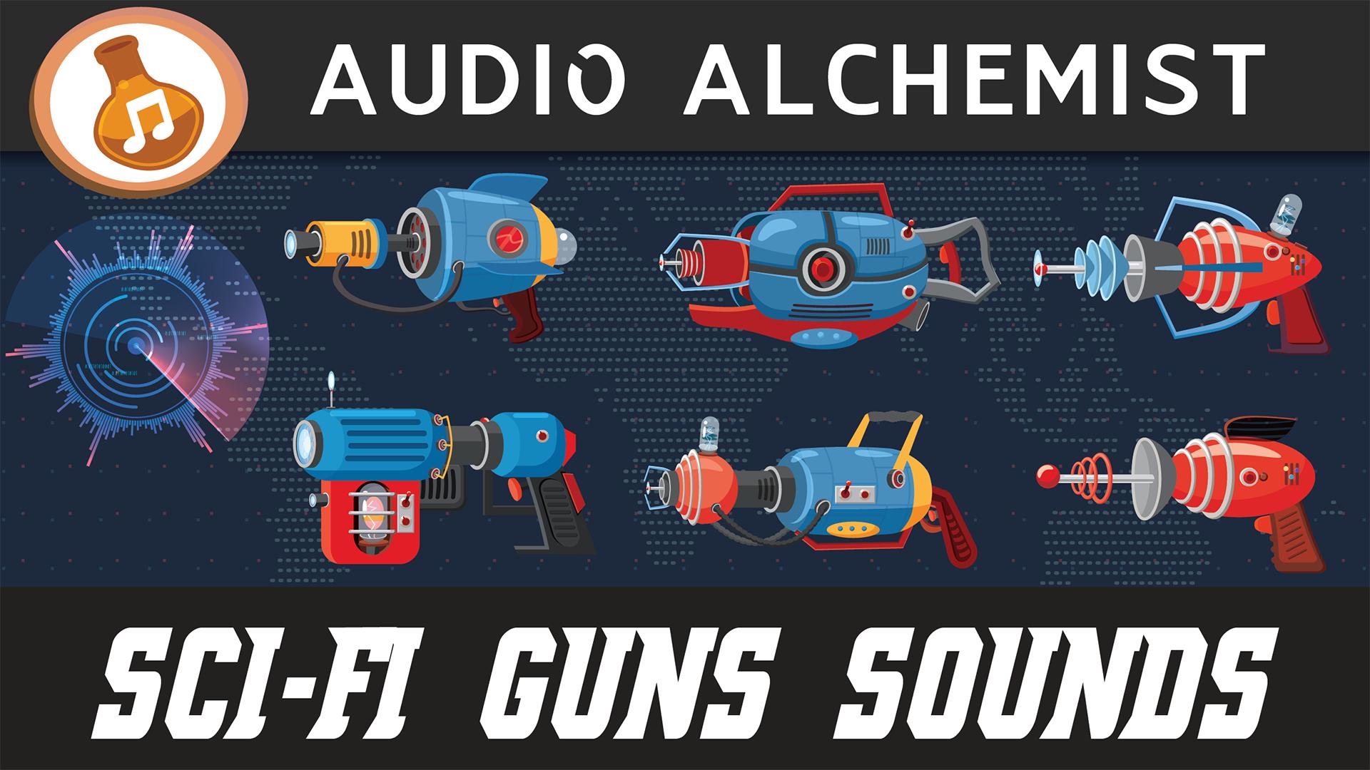 Sci-Fi Guns Sounds