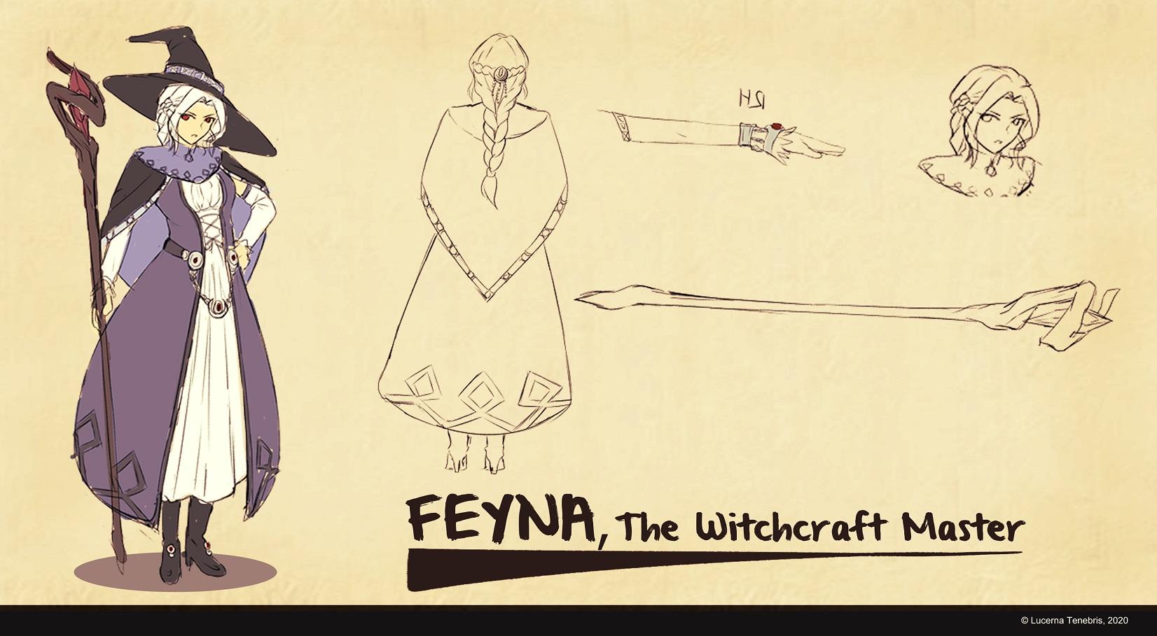 Feyna, The Witchcraft Master