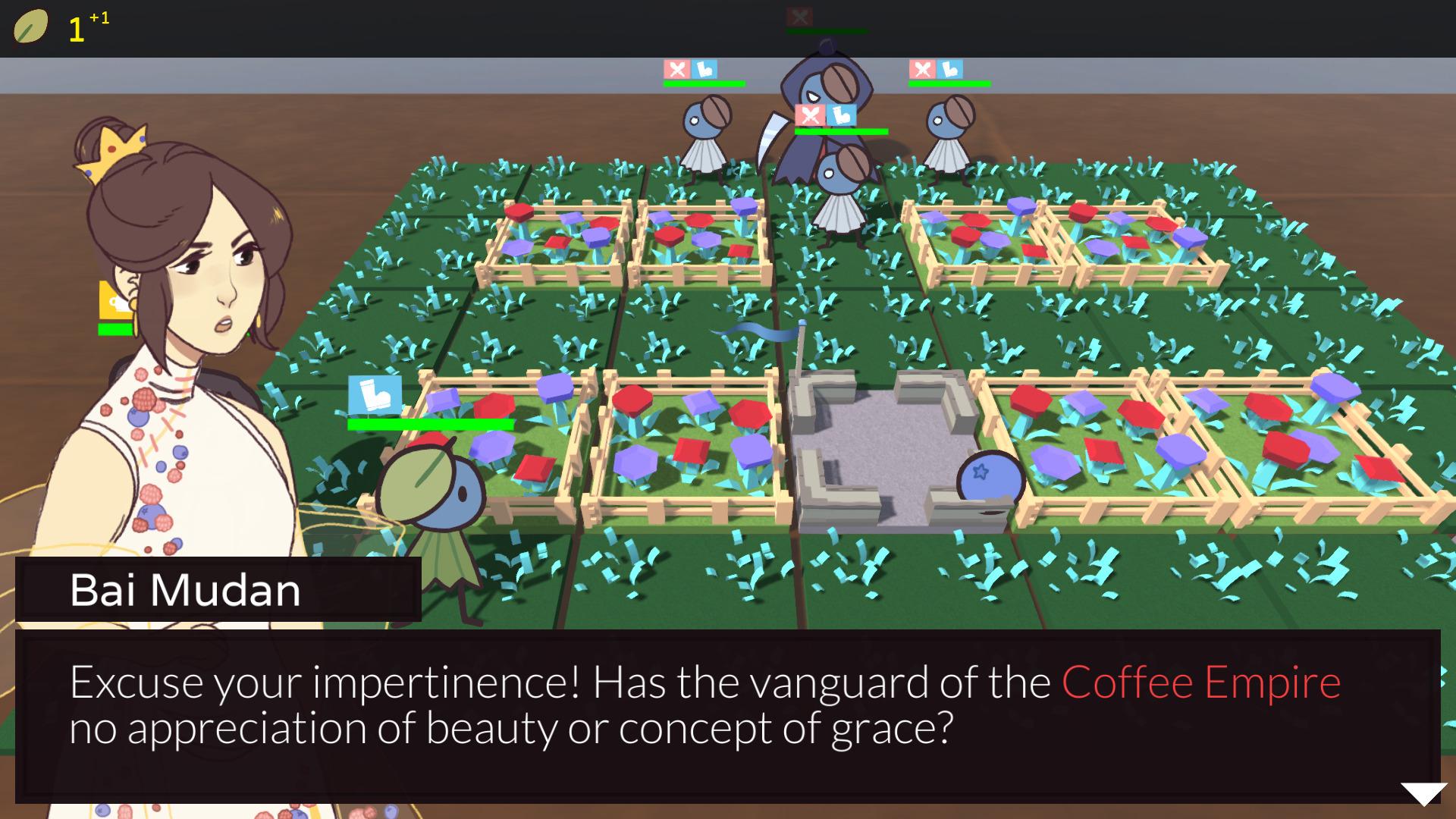 Screenshot from Sovereign Tea