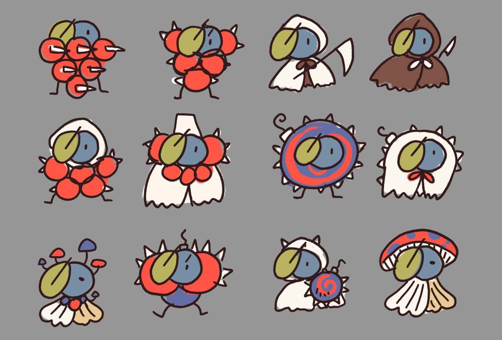Tea Minion Concept Sketches