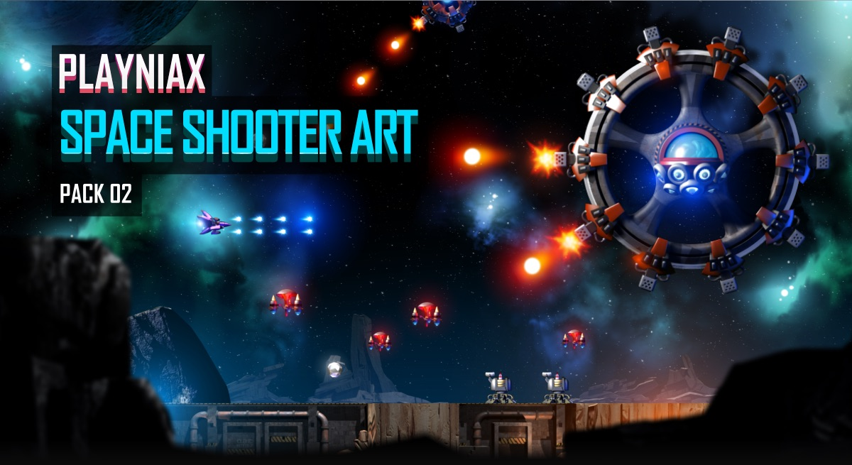 Space Shooter Art Pack 02