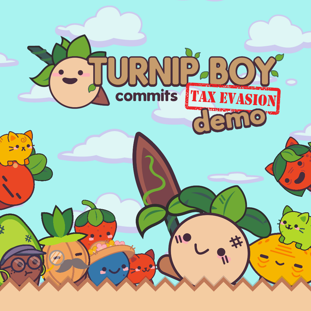 Turnip Boy Commits Tax Evasion Demo