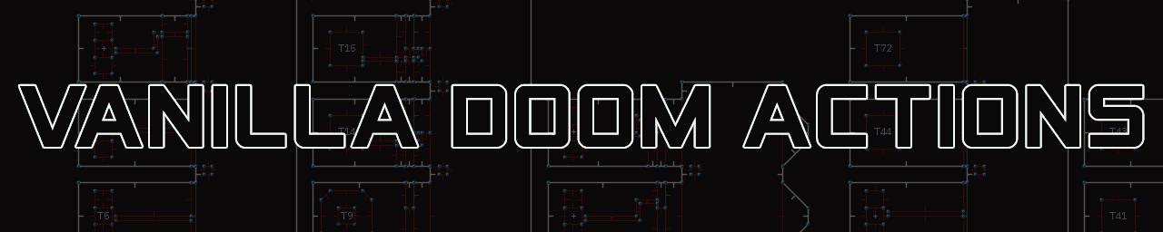 Vanilla Doom Actions