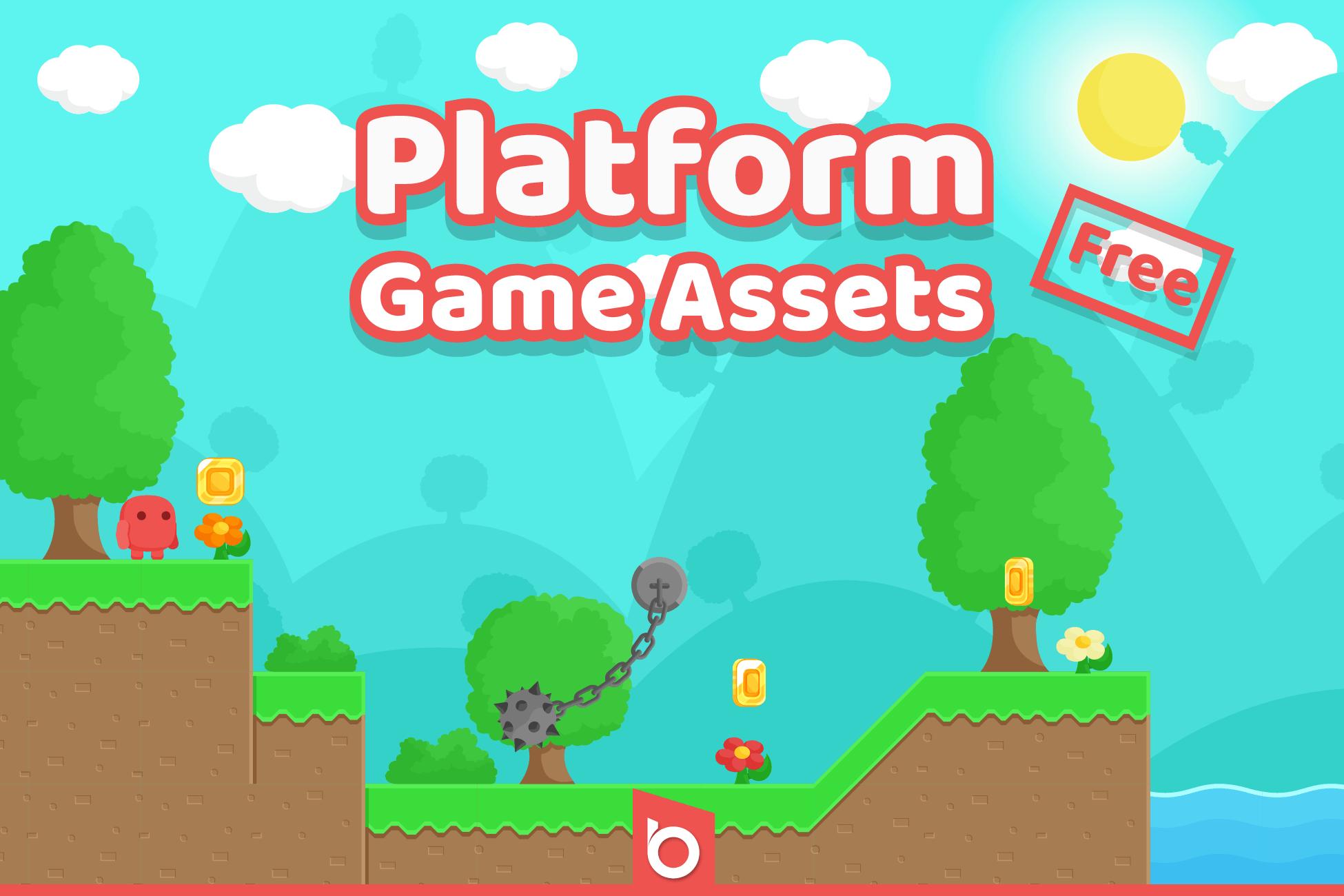 Free Platform Game Assets Gui By Bayat Games
