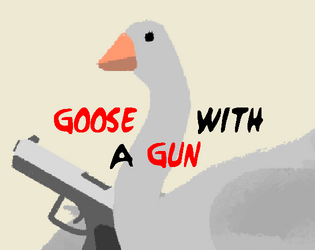 Goose with a Gun