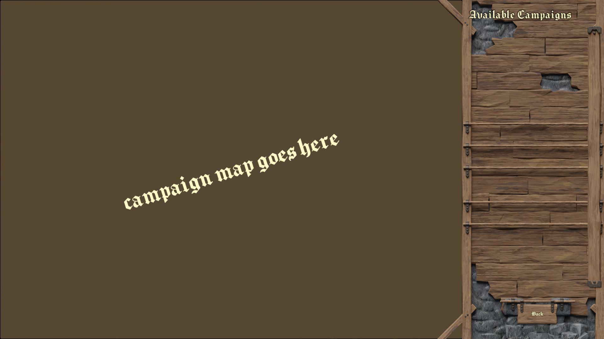 Campaign Screen